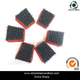 Silicone-Carbide Diamond Abrasive Brush di Francoforte con Velcro Back