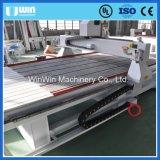 Da estaca acrílica do router do CNC do MDF do PVC da madeira máquina de trituração do torno