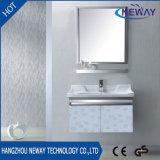 Vanità fissata al muro del bagno dell'acciaio inossidabile di alta qualità con lo specchio