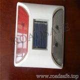 Goujon r3fléchissant solaire de route du plastique DEL