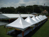 шатер поставщика Pagoda промотирования шатра печатание логоса 5*5m