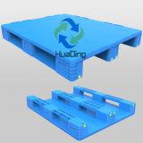 palette fermée lourde de plastique de paquet de 3 turbines de 1200*1000*170mm
