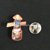 Pin feito sob encomenda de Metal Logo Badge com Color Enamel