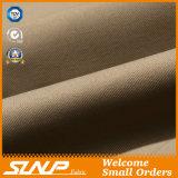 Ropa ocasional 100% de la deformación del algodón de la tela doble de la tela cruzada