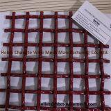 Perfessional Kohlenstoffstahl-Quadrat quetschverbundener Maschendraht