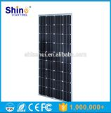 El panel solar monocristalino de 150W picovoltio Mudule con Ce del TUV