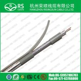 Система цвета CATV коаксиального кабеля посыльного Tri-Экрана RG6 серая