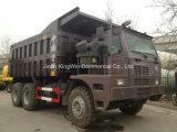 덤프 트럭 30 톤 Sinotruk HOWO 상표 광업