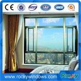 Felsige Wärmeisolierung-Neigung-Aluminiumflügelfenster-Fenster