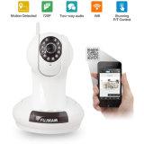 De hete Verkopende IP van de Visie van de Nacht van Internet WiFi van het Netwerk van 2 Manier Audio Draadloze Camera van de Koepel van kabeltelevisie van het Toezicht van het Huis van de Camera Binnen (FM0002A)