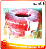 230V 60W / M Diâmetro 2mm Red Silicone Rubber Heating Wire