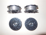 Les Etats-Unis maximum 21ga Poly Coated Wire