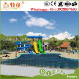 De Combinatie van de Dia van het Park van Aqua voor het Zwembad van het Hotel