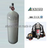 Бак воздуха Scba волокна углерода шестерни 9.0L пожарного