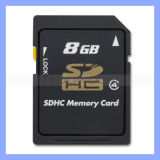 Schnelles Storage Plug and Play 8GB Flash SDHC Memory Card