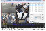 4/8 de sistema móvel da canaleta HDD DVR com o GPS que segue para a fiscalização do vídeo do veículo/carro/barramento/caminhão