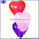 ロゴによってカスタマイズされるハート形の気球