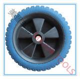 [وهيل برّوو] إطار العجلة 4.80/4.00-8 صلبة [بو] [فوأم روبّر] عجلة [5إكس1.5] [بو] زبد عجلة