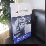 Karton 3-Schicht-E-Flute Flexo Mattschwarz Papierpaket Tasche