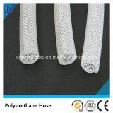 Tuyau en polyuréthane à tissage de fibres