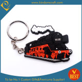 Förderndes Cheap 2D Car Branded Rubber Soft PVC Keychain (LN-0182)