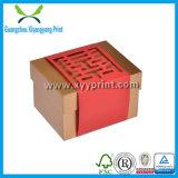 Vakje van de Gift van de Deur van het Huwelijk van het Document van de Kleur van de douane het Roze