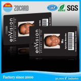 Cartão da identificação de foto do estudante da escola com código de barras