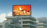 B31.25-41.67 que hace publicidad de la visualización de LED al aire libre a todo color