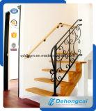 Barandillas residenciales durables/pasamanos del hierro labrado de la seguridad de Consice