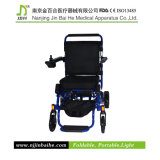 Lightweight de luxe Foldable Electric Wheelchair pour Rehabilitation Therapy