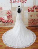 Backless Lace Real Photo Mermaid Wedding Dress (SL110)