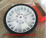 """roda 7 """" X1.5 """" plástica para o trole da mão e o carrinho de mão de roda"""
