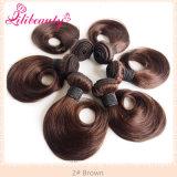 """cheveu de trame malaisien d'Ombre de mode de cheveux humains d'Ombre de 10 """" deux sons"""