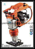 Factory Direct Supply 5.5HP Honda Engine Essence Mikasa Type Vibrant Tamping Rammer avec moteur à 4 temps et soufflet allemand Gyt-72h