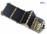 26W, das Solaraufladeeinheit mit Dual-Port Ausgabe USB-Gleichstrom 12V und 5V, bewegliche faltende Sonnenkollektor-Aufladeeinheit für Motorhome, Wohnwagen, Boot/Yacht, kampierend faltet