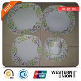 De vierkante Reeks van het Diner van de Vorm Ceramische