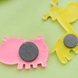 De goedkope OEM Magneet van de Koelkast van pvc van de Herinneringen van het Toerisme Rubber 3D