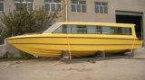 30seats FRP Boat cabina de pasajeros con motor fuera de borda