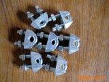 Surtidor de la fábrica galvanizado aparejando un tipo clips de cuerda de alambre/abrazadera