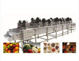 Отрегулируйте машину для просушки Tsgf-60 еды обезвоживателя овоща плодоовощ горячего воздуха температуры