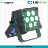 7*10W Full Rgbaw LED Stage Flat PAR Light per la discoteca di Indoor