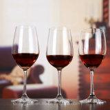 Het met de hand gemaakte Duidelijke Glas Van uitstekende kwaliteit van de Wijn van de Drinkbeker van het Glas