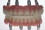 Zygomatic Zahnimplantat-volle Bogen-Brücke hergestellt im China-zahnmedizinischen Labor