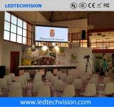 Visualizzazione di LED locativa dell'interno dell'Spazzolare-Alluminio per la fase (P3mm, P4mm, P5mm, P6mm)