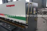 machine van het Roestvrij staal van het Koolstofstaal van het Aluminium van 6mm De Hydraulische Scherpe met Voet Pendal