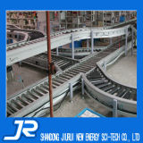 Trasportatore a rulli galvanizzato per la linea di produzione