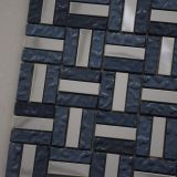 Azulejos Polished de la pared de la venta del mosaico de cerámica de cristal caliente del metal