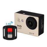 HD 1080P WiFi Sport Camera Waterproof Remote Control Helmet Action Camera