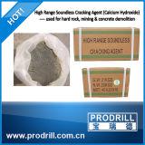 Caro almofariz de MSDS Crackmax/agente de rachamento para Quarrying do granito