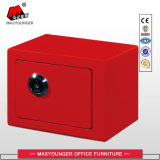 Home Hotel Use Digital Colorful Metal Cash Safe Box
